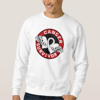 Survivor 14 Lung Cancer Sweatshirt