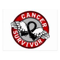 Survivor 14 Melanoma Postcard