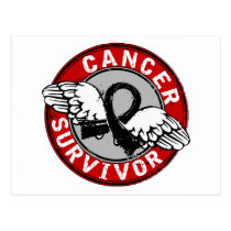 Survivor 14 Melanoma Postcard
