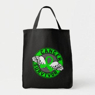 Survivor 14 Non-Hodgkin's Lymphoma Grocery Tote Bag