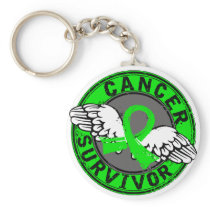 Survivor 14 Non-Hodgkin's Lymphoma Keychain