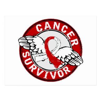 Survivor 14 Oral Cancer Postcard