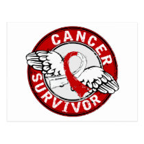 Survivor 14 Oral Cancer Postcard