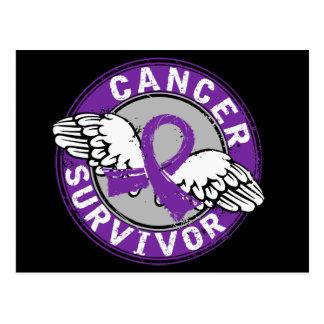 Survivor 14 Pancreatic Cancer Postcard