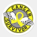 Survivor 14 Sarcoma Round Sticker