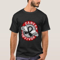 Survivor 14 Skin Cancer T-Shirt