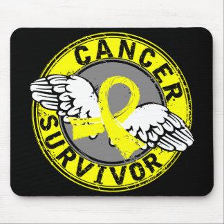 Survivor 14 Testicular Cancer Mouse Pad