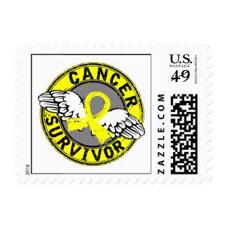 Survivor 14 Testicular Cancer Stamps