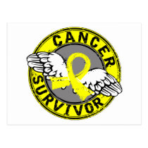 Survivor 14 Testicular Cancer Postcard