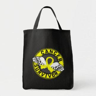 Survivor 14 Testicular Cancer Tote Bag