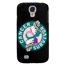 Survivor 14 Thyroid Cancer Samsung Galaxy S4 Cover