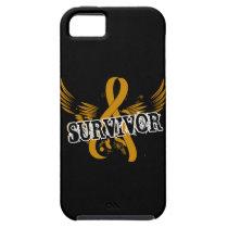Survivor 16 Appendix Cancer iPhone SE/5/5s Case