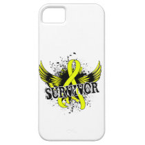 Survivor 16 Bladder Cancer iPhone SE/5/5s Case
