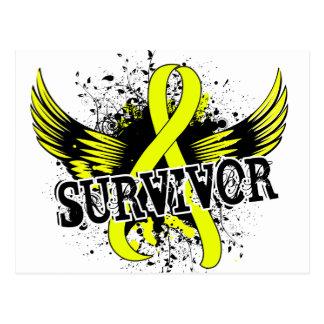 Survivor 16 Bladder Cancer Postcard