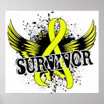 Survivor 16 Bladder Cancer Poster