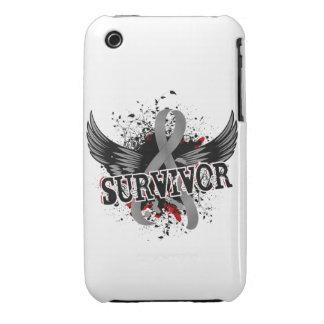 Survivor 16 Brain Tumor iPhone 3 Case-Mate Case
