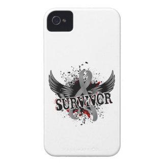 Survivor 16 Brain Tumor iPhone 4 Case-Mate Cases