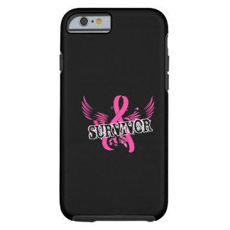 Survivor 16 Breast Cancer iPhone 6 Case