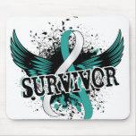 Survivor 16 Cervical Cancer Mouse Pad
