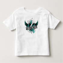 Survivor 16 Cervical Cancer Toddler T-shirt