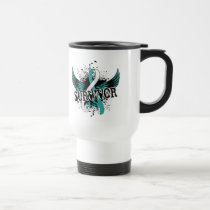 Survivor 16 Cervical Cancer Travel Mug