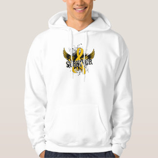 Survivor 16 Childhood Cancer Hoodie