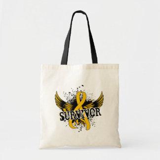 Survivor 16 Childhood Cancer Tote Bag
