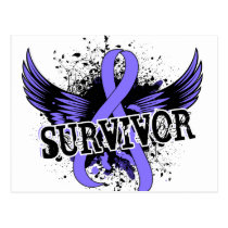 Survivor 16 Esophageal Cancer Postcard
