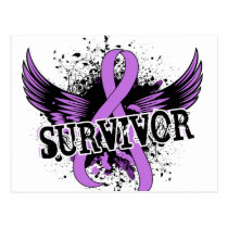 Survivor 16 General Cancer Postcard