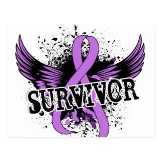 Survivor 16 General Cancer Postcard