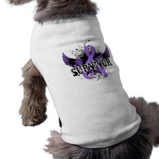 Survivor 16 Hodgkin s Lymphoma Pet Shirt