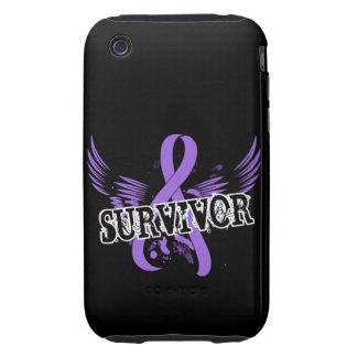 Survivor 16 Hodgkin's Lymphoma Tough iPhone 3 Case