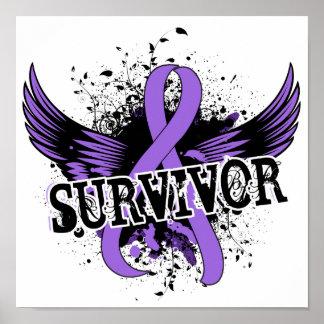 Survivor 16 Hodgkin's Lymphoma Poster