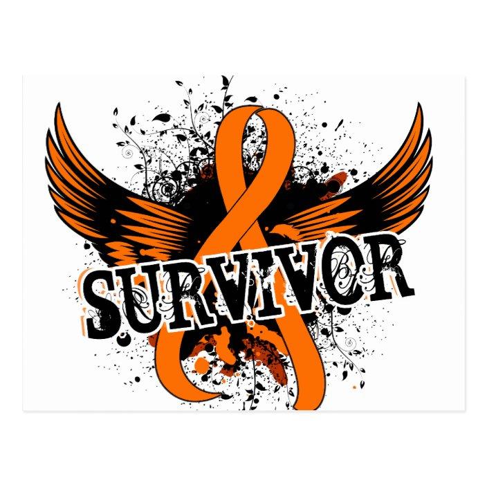 Survivor 16 Kidney Cancer Postcard Zazzle Com
