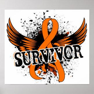 Survivor 16 Leukemia Poster
