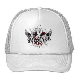 Survivor 16 Lung Cancer Trucker Hat