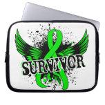 Survivor 16 Lymphoma Laptop Computer Sleeves