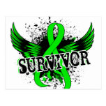 Survivor 16 Lymphoma Postcard