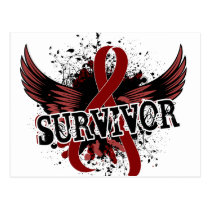 Survivor 16 Multiple Myeloma Postcard