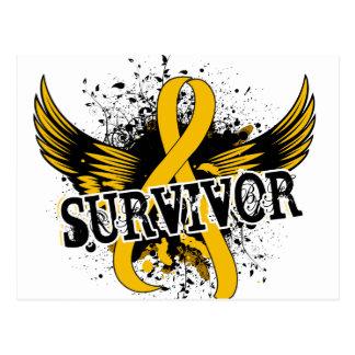 Survivor 16 Neuroblastoma Postcard