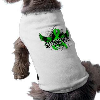 Survivor 16 Non-Hodgkin s Lymphoma Pet Tshirt