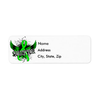 Survivor 16 Non-Hodgkin's Lymphoma Return Address Label