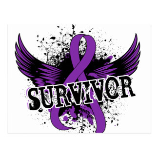 Survivor 16 Pancreatic Cancer Postcard