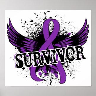 Survivor 16 Pancreatic Cancer Poster