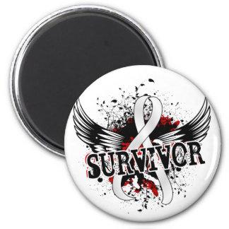Survivor 16 Retinoblastoma Refrigerator Magnets