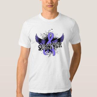 Survivor 16 Stomach Cancer T Shirt