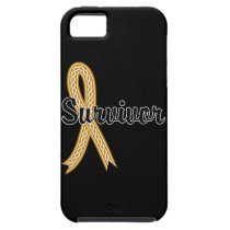 Survivor 17 Appendix Cancer iPhone SE/5/5s Case
