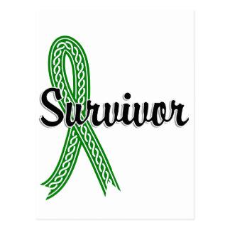 Survivor 17 Bile Duct Cancer Postcard
