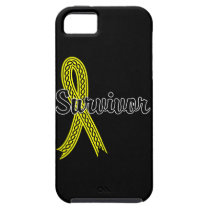 Survivor 17 Bladder Cancer iPhone SE/5/5s Case