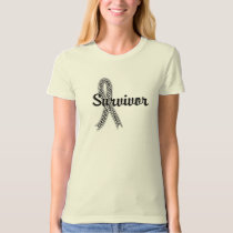 Survivor 17 Bone Cancer T-Shirt